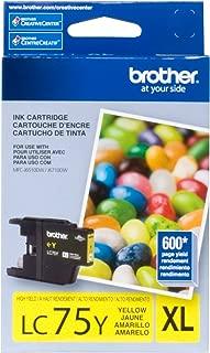 BRTLC75Y - Brother LC75Y LC-75Y Innobella High-Yield Ink