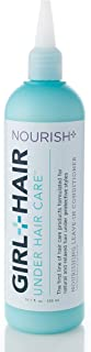Girl+Hair Natural Hair Products, Nourish Plus Leave in Conditioner, with Shea Butter & Cocoa Butter, 10.1 fl. oz./ 300 ml