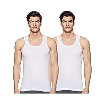 [Size S] Max Men's Antibacterial Classic Vest-Pack of 2