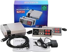 Hometown Classic Mini Retro Game Console HDMI - Retro Gaming Console built-in 621 Classic Video Game for Kids - 2 Classic ...