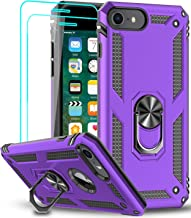 LeYi iPhone SE 2020 Case with [2 Pack] Tempered Glass Screen Protector, [Military-Grade] Protective Phone Case with Magnet...