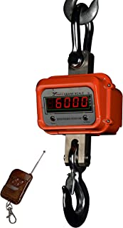 Prime Scales Zenith Series Super Duty Industrial Grade 6000lb x 1lb Crane Scale/Hanging Scale with Remote Control