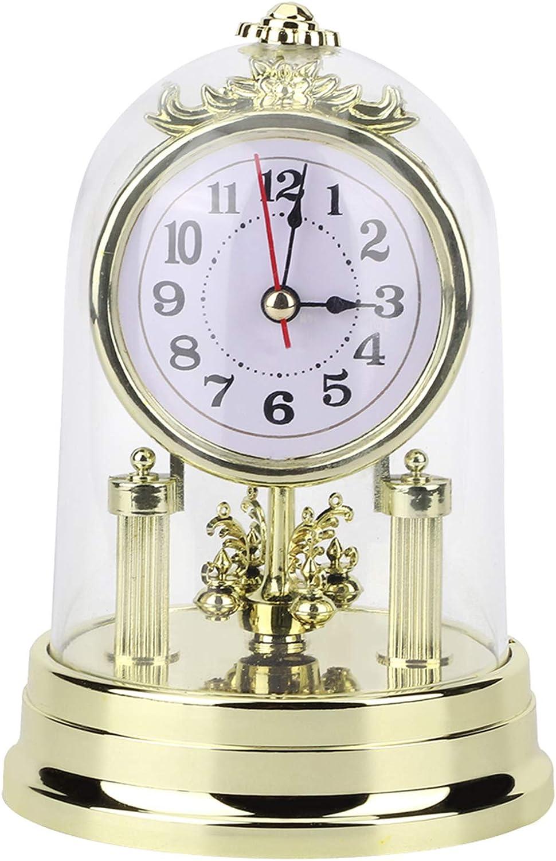 Yolispa Clock Cheap SALE Ultra-Cheap Deals Start Antique Silent Table European Classic Sleek