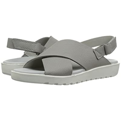 ECCO Freja Slide Sandal II (Wild Dove Cow Leather) Women