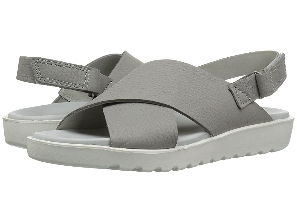 ECCO Freja Slide Sandal II (Wild Dove Cow Leather) Women