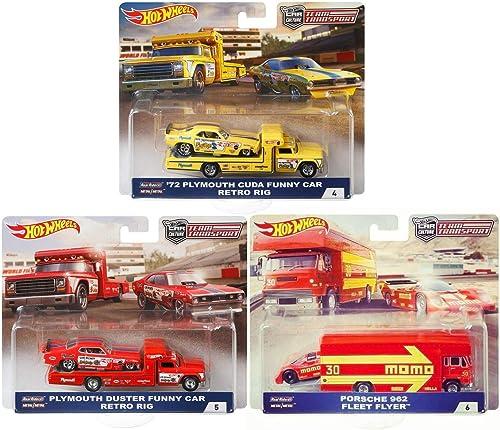 Hot Wheels Team Transport Car Culture 6 Modellautos Set 2 1 64 FLF56