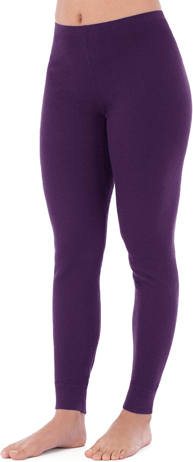 Fruit of the Loom Women's Micro Waffle Thermal Bottom