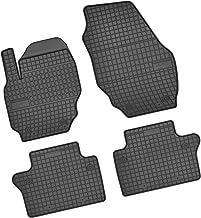 Gummifußmatten für Volvo V70 V 70 V-70 3 Typ 24 Kombi 5-türer 2007 schwarz Scha