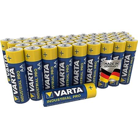 Varta Industrial Batterie Aa Mignon Alkaline Batterien Elektronik