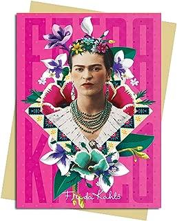 Frida Kahlo Pink Greeting Card: Pack of 6 (Greeting Cards)