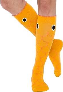 LISH Animal Compression Socks - Graduated 15-25mmHG Novelty Knee High Sport Socks for Men and Women