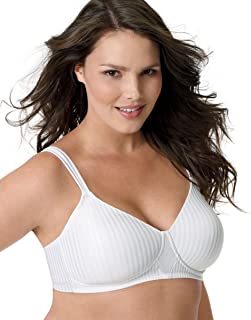 Secrets Perfectly Smooth Wirefree Bra_White Stripe_42DD