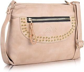 Nevis Synthetic Leather Stylish Trendy Bag/Travel College Bag/Fashion Shoulder Crossbody Slingbag for Women