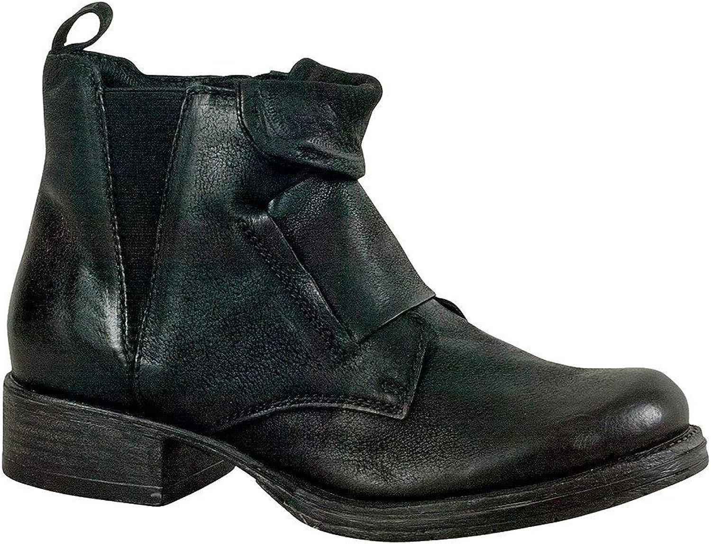Miz Mooz Womens Nicholas Leather Closed Toe Ankle Fashion Boots