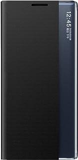 حافظة بوكس جالاكسي A11 Eu حافظة، حافظة هاتف قابلة للطي شفافة شفافة لهاتف سامسونج جالاكسي A11 أوروبي/أسود