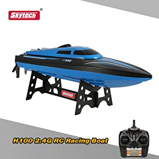 Original Skytech H100 2.4G Remote Controlled 180° Flip 20KM/H High Speed Electric RC Boat