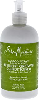 Shea Moisture Bamboo Extract and Maca Root Resilient Growth Conditioner by Shea Moisture for Unisex - 13 oz Conditi, 408.23 grams