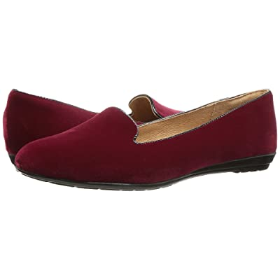 Sofft Belden (Red/Black Velvet/Cow Patent) Women