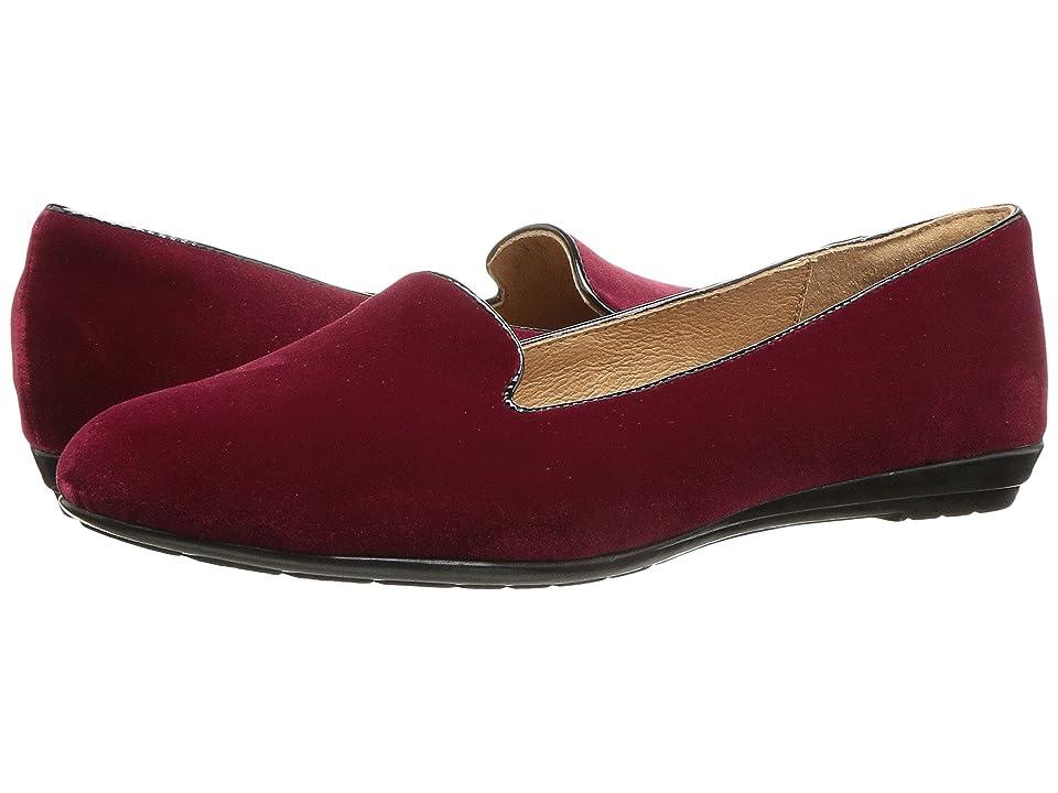 Sofft Belden (Red/Black Velvet/Cow Patent) Women