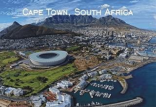 City to City Marketing Cape Town, Capital of South Africa, Table Mountain, Travel, Souvenir, Refrigerator, Locker Magnet, 2 x 3 Fridge Magnet