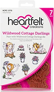 Heartfelt Creations Wildwood Cottage Darlings Cling Rubber Stamp