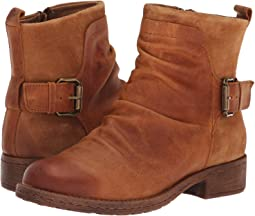 Almond Rodeo/Cognac Oiled Cow Suede