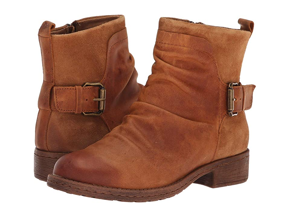 Comfortiva Selas (Almond Rodeo/Cognac Oiled Cow Suede) Women