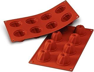 Silikomart Bundt Kugelhopf Gugelhupf Cake Mould, 55mm, Terracotta