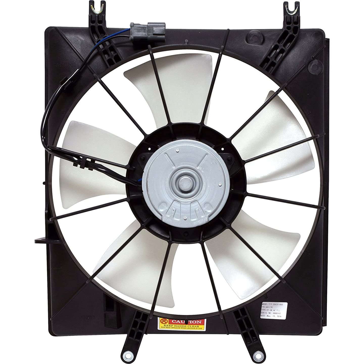 Universal Air Conditioner FA 50003C Engine Cooling Fan Assembly