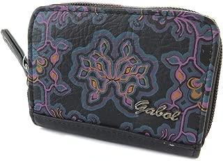 Zip purse 'Gabol' black purple (11.5x8x3 cm (0.00''x3.15''x1.18'') ).