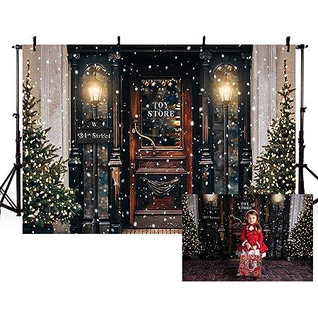 7x5FT Romantic Christmas Tree Light Decor Photography Backdrop Studio Prop