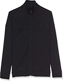 Under Armour Sportstyle Pique Track Jacket, Lightweight and Breathable Men's Fleece, Comfortable Tight-Fit Running Jacket Men