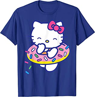 Hello Kitty Donut Sprinkles Floaty Summer Swimming T-Shirt
