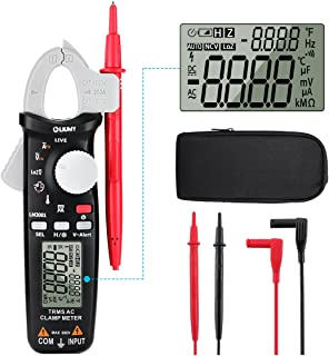 Digital Clamp Meter,6000 Counts LIUMY LM3001 True RMS Auto-ranging Clamp Multimeter,Lightweight high Accuracy clamp Meter, 600V AC/DC Voltmeter Amp Meter, NCV/Temperature/Current/Voltage/Hz/Duty Cycl