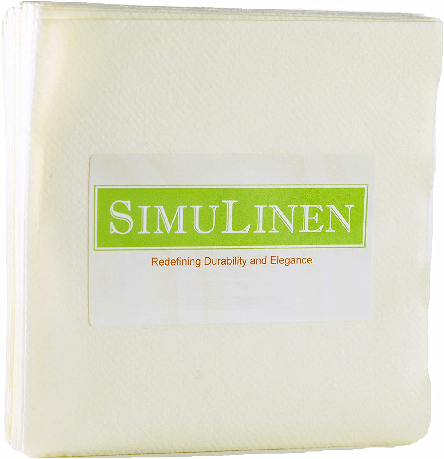 SimuLinen Colored Cocktail Beverage Champagne - Napkins Ivory trend rank All stores are sold