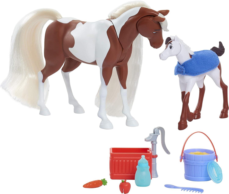 "Spirit Riding Free SPIRIT Horse 6/"" Figure Dreamworks Netflix *New"