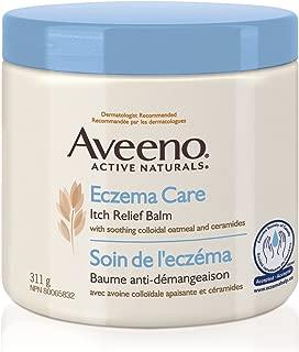 Aveeno Lotions Eczema Care Anti-Itch Balm, Eczema Treatment Cream With Colloidal Oatmeal, 311g