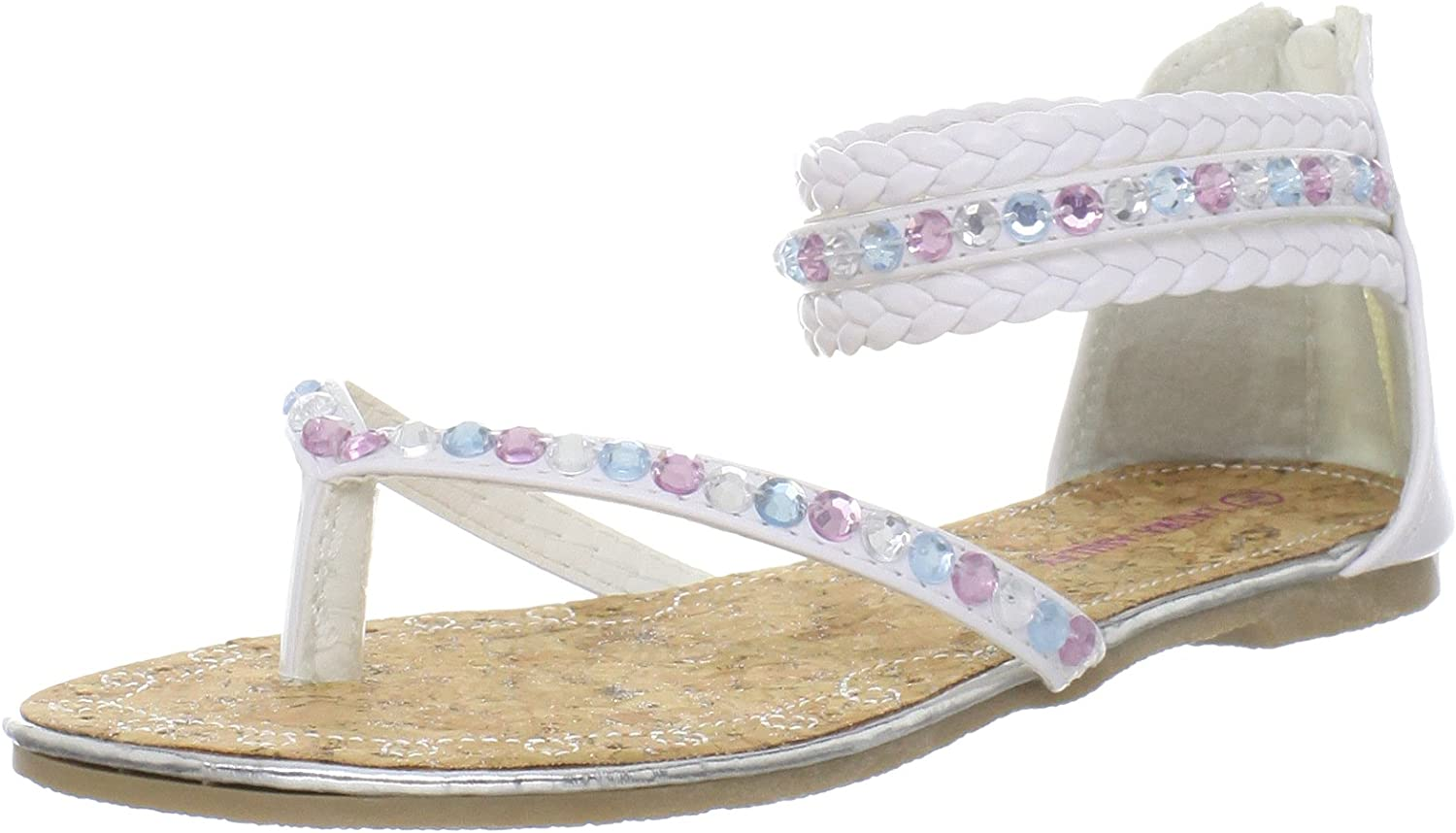 Laura Max 79% OFF Ashley LA20016 Thong Little Toddler Kid Sandal Recommended