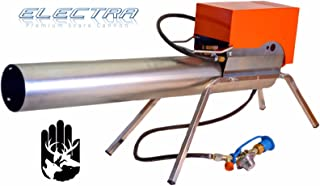 Zon Electra Gun Bird Scare Propane Cannon & Rotating Tripod for Agriculture & Airports & Ponds