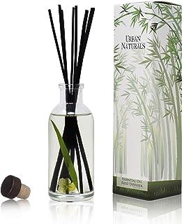 Urban Naturals Lemongrass Verbena Reed Diffuser Scented Sticks Set | (Refresh + Renew) Mind & Body Aromatherapy Collection...
