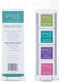 Therm O Web Gina K Designs 1 Cube Dye Ink Set Island Dream