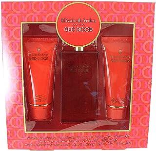 Elizabeth Arden Red Door 3 Pc. Gift Set (Eau De Toilette Spray 3.3 Oz + Perfumed Body Lotion 3.3 Oz + Bath & Shower Gel 3....