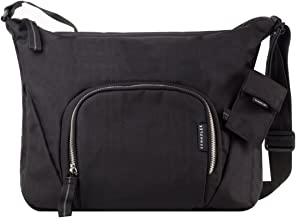 Crumpler DZPS-007 Doozie Photo Sling Camera Bag with 9.7-Inch Tablet Compartment - Black/Metallic Silver