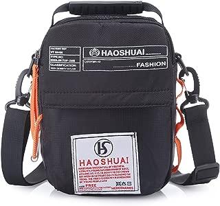 Waterproof Shoulder Bag Small Messenger Cross Body Bag for Outdoor