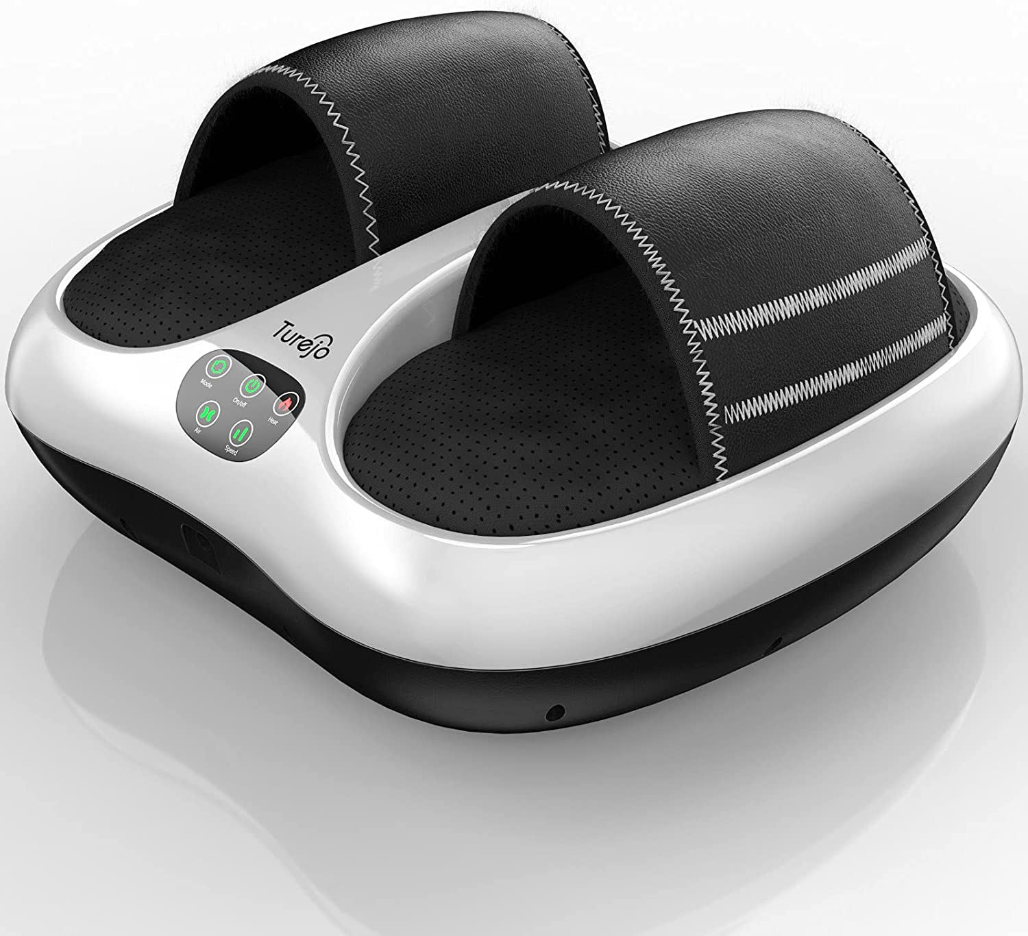 Foot Massager, Turejo Foot Massager Machine with Heat and Vibrat