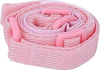 Okuyonic Bracelet de sécurité Laisse de Poignet pour Tout-Petits en Nylon et PP pour Enfant de 1 à 8 Ans pour Les Parcs(Pink)