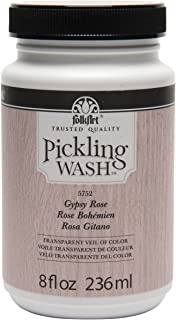 FolkArt Pickling Wash in Assorted Colors (8 oz), 5752 Gypsy Rose