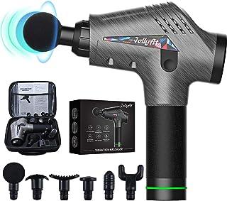 Jollyfit Massage Gun, Portable Handheld Body Muscle Massager Professional Deep Tissue, Back Neck Leg Massager Vibration wi...