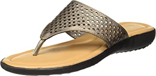 BATA Girl's Laser Swasroski Th Fashion Slippers