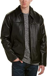 Cole Haan Signature Men's Faux-Leather Jacket